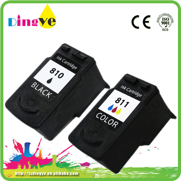 Refillable Ink Cartridge For Canon PG-810 CL-811 Compatible Ink Cartridge For Canon PG 810/CL 811 Ink Cartridge