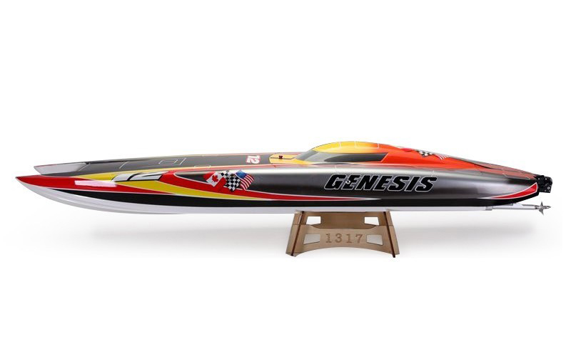 Wholesale Hot Toys Electric Twin Motor Rc Boat Brushless 70km/h Fast