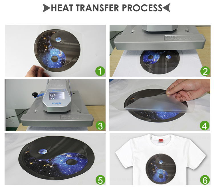 Qingyi ที่มีคุณภาพสูงที่กำหนดเอง plastisol สติกเกอร์การถ่ายเทความร้อนสำหรับเสื้อยืด