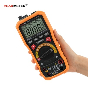 PM8229 Hot Sale Professional 4000 Counts digital environment multimeter Sound Level Frequency 5 In1 Measurement Tester