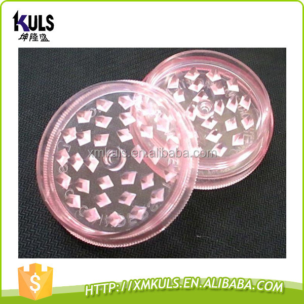 Wholesale High Quality Manual Dry Herb Grinder herb Tobacco Grinder Plastic Weed Grinder