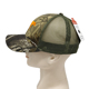 curved brim hunting mesh caps custom coloured camo printing trucker hats dye sublimation trucker cap