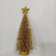 Custom made mini yellow christmas tree