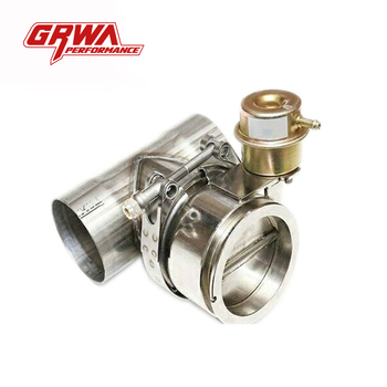 GRWA Stainless steel normlly-closed exhaust valve with T pipe