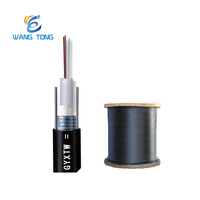 China supplier outdoor single mode ftth 2 4 6 12 24 core fiber optic cable price per meter