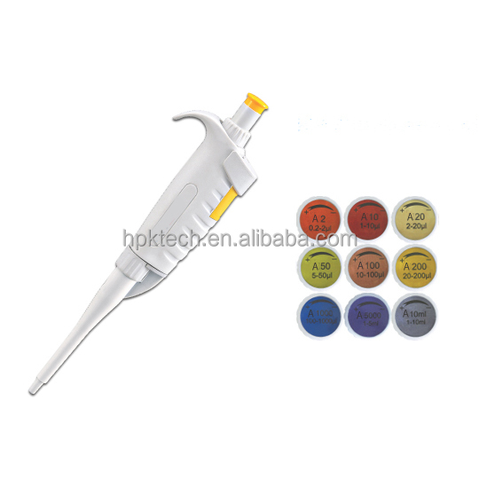Number Reading Variable Volume Pipette 1000ul 5000ul 10000ul