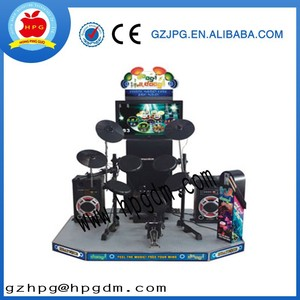 Coin operated Jazz hero Jazz drum game machine for sale