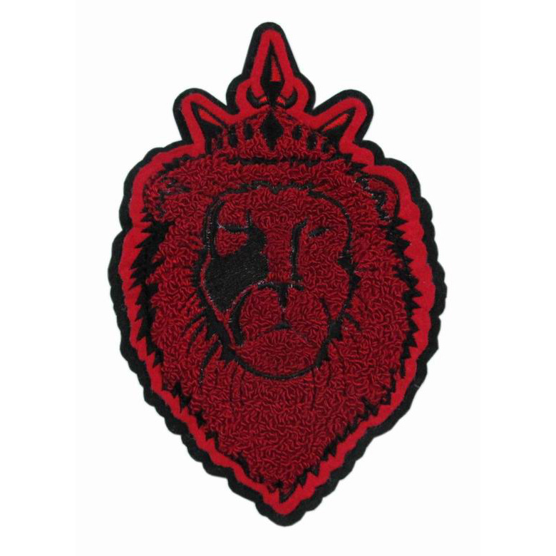 Athletic/Academic/Performing Arts Chenille Patch with embroidered logo