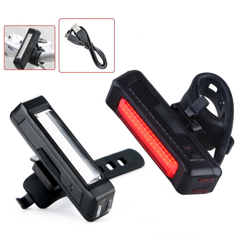 Adjustable Waterproof Mountai Bicycle Accessories 5 LED Plastic Bike Front Light with Clip