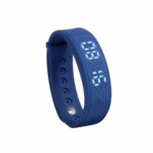Adult smart bracelet heart rate monitor waterproof calorie wristband step counter
