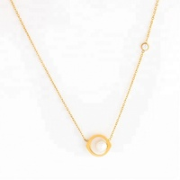 Miss Jewelry Cheap 5 Gram Rose Gold Plated Jewelry Necklace Models for Girls
