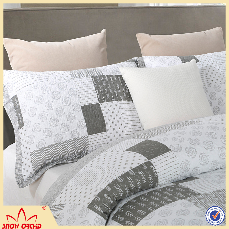 Factory Supply 100%Cotton high quality bedding Set,printed pattern comfortable bedding sets