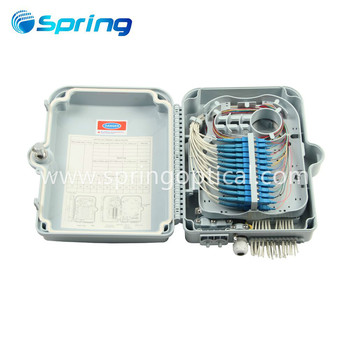 FTTH Fiber Outdoor Wall Mount CTO 0324 3Input 24Output Fiber Optical Distribution Box Fibra Terminal Box Box