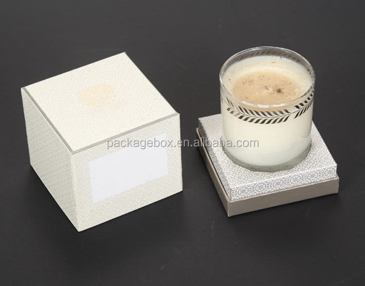 Luxury Candle Box Packaging/candle Packing Box/cemetery Candle Box For Soy  Wax Candle