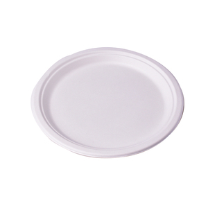 Biodegradable eco friendly compostable tableware one time bamboo fiber sugarcane bagasse paper disposable plates india