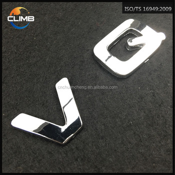 best selling 3d abs custom made adhesive plastic chrome letters for cars abs plastic car logo store name buy adhesive plastic chrome lettersstickers