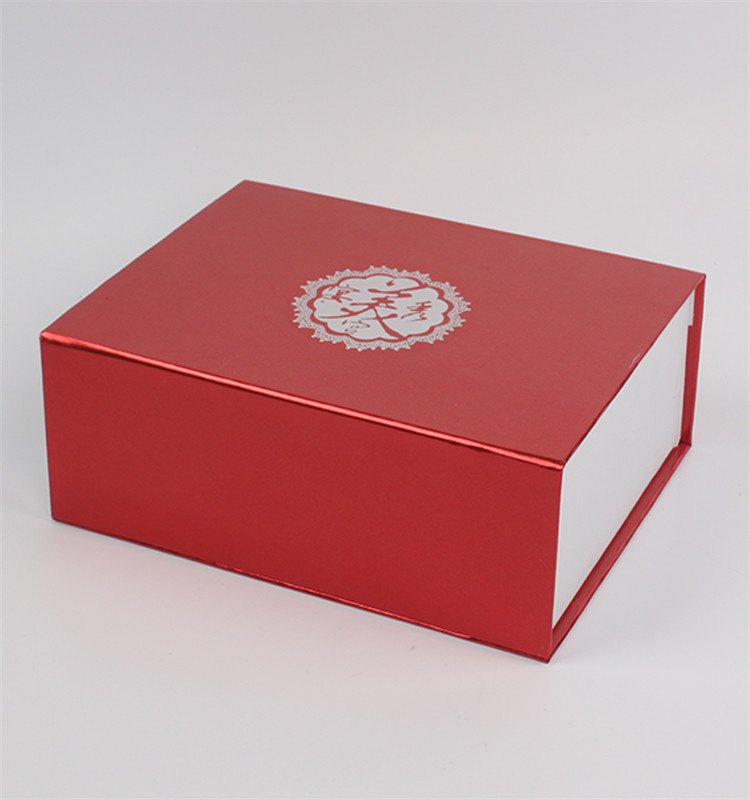 wholesale paper packing box customise white paper box