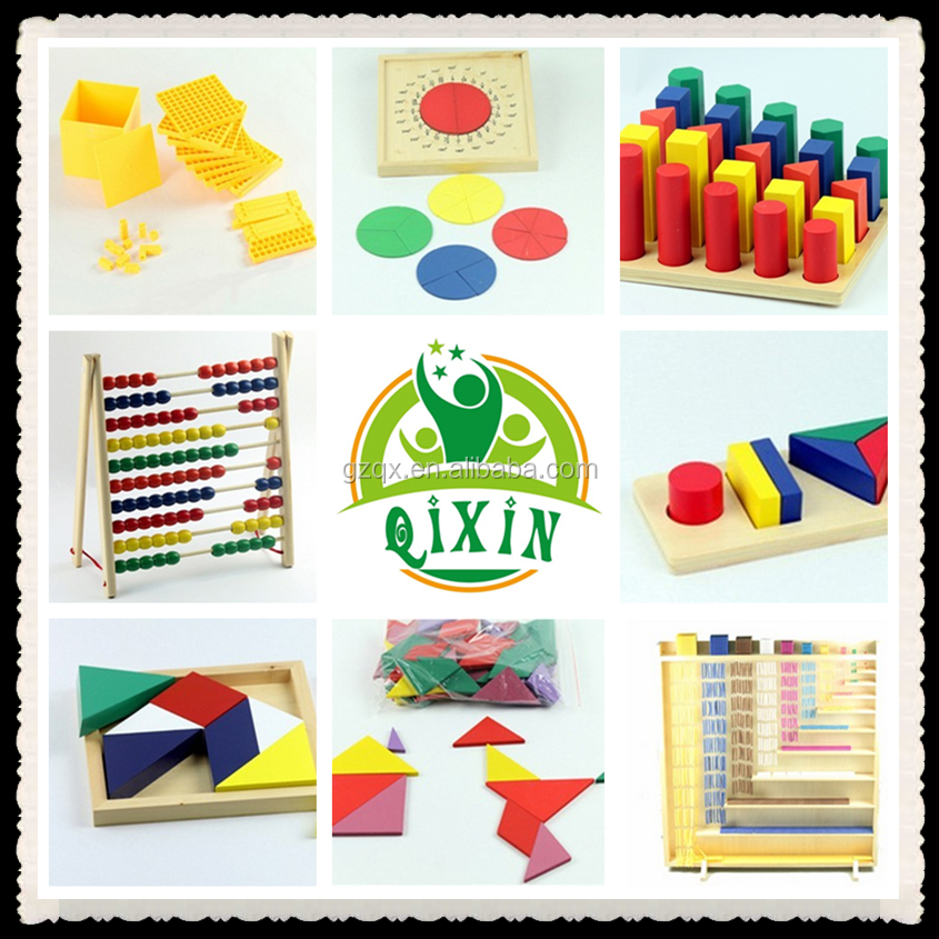Montessori toys/montessori teaching aids CE/montessori equipment 201 full sets (1 set=201pcs) QX-B4802