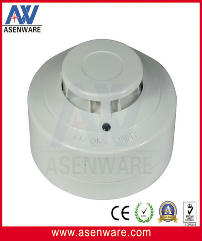 large building fire alarm conventional 4 wire heat detector with CE EN-7,AW-CTD805