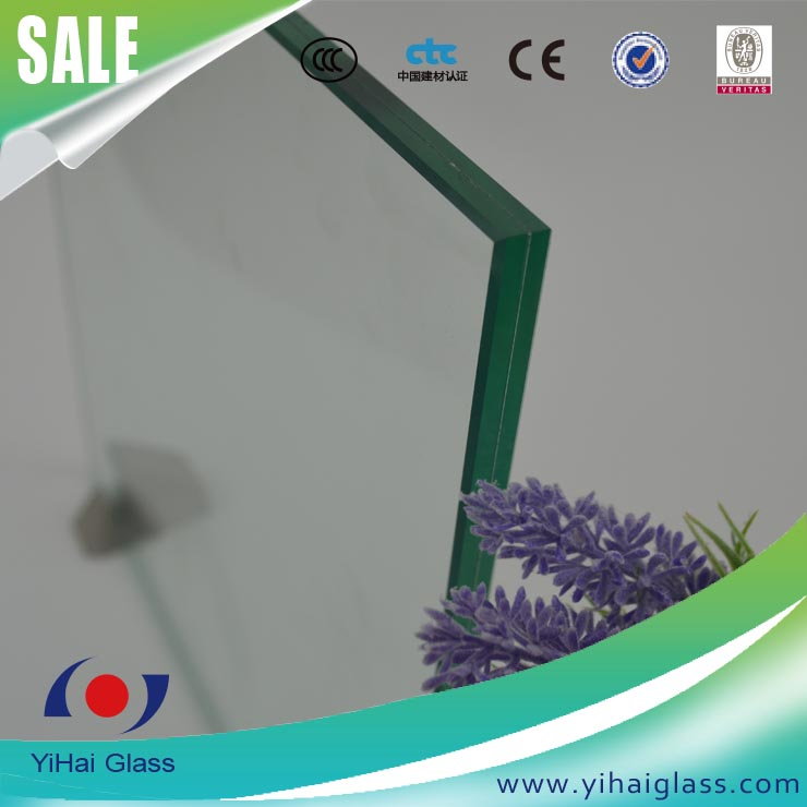 jumbo size laminated glass cut to size for shop front