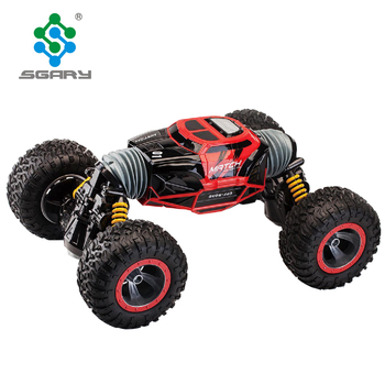 Big Size Double Sided 2 4ghz Rc Remote Control Stunt Vehicle