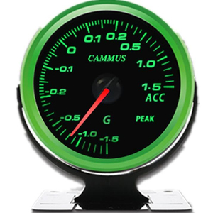 Windbooster Meter Suitable for all Turbo Cars Accurate Reading Gauges II Colorful G Value Table Air Fuel Ratio Gauge