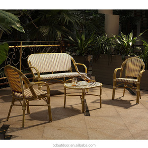 Outdoor Rattan Chair Garden Line Patio Furniture Bamboo Furniture