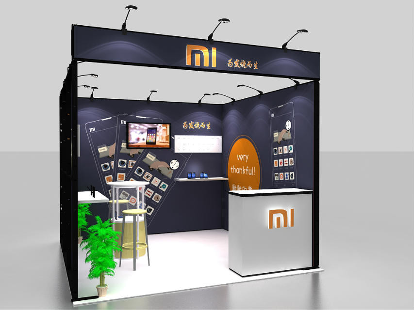 Small Modular Exhibition Stands : Small aluminum modular exhibition stand for buy