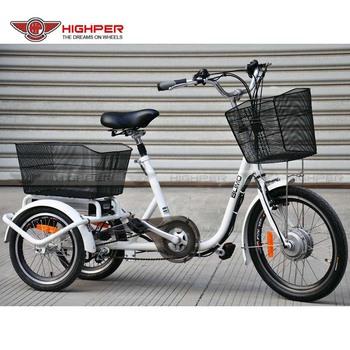 Spiksplinternieuw 250w Stalen Frame Elektrische Driewieler,Volwassen 3-wieler PV-62