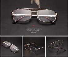 WEARKAPER, роскошные винтажные очки для чтения с оправой из нержавеющей стали, женские и мужские очки для дальнозоркости, дальнозоркости, круглы...(Китай)