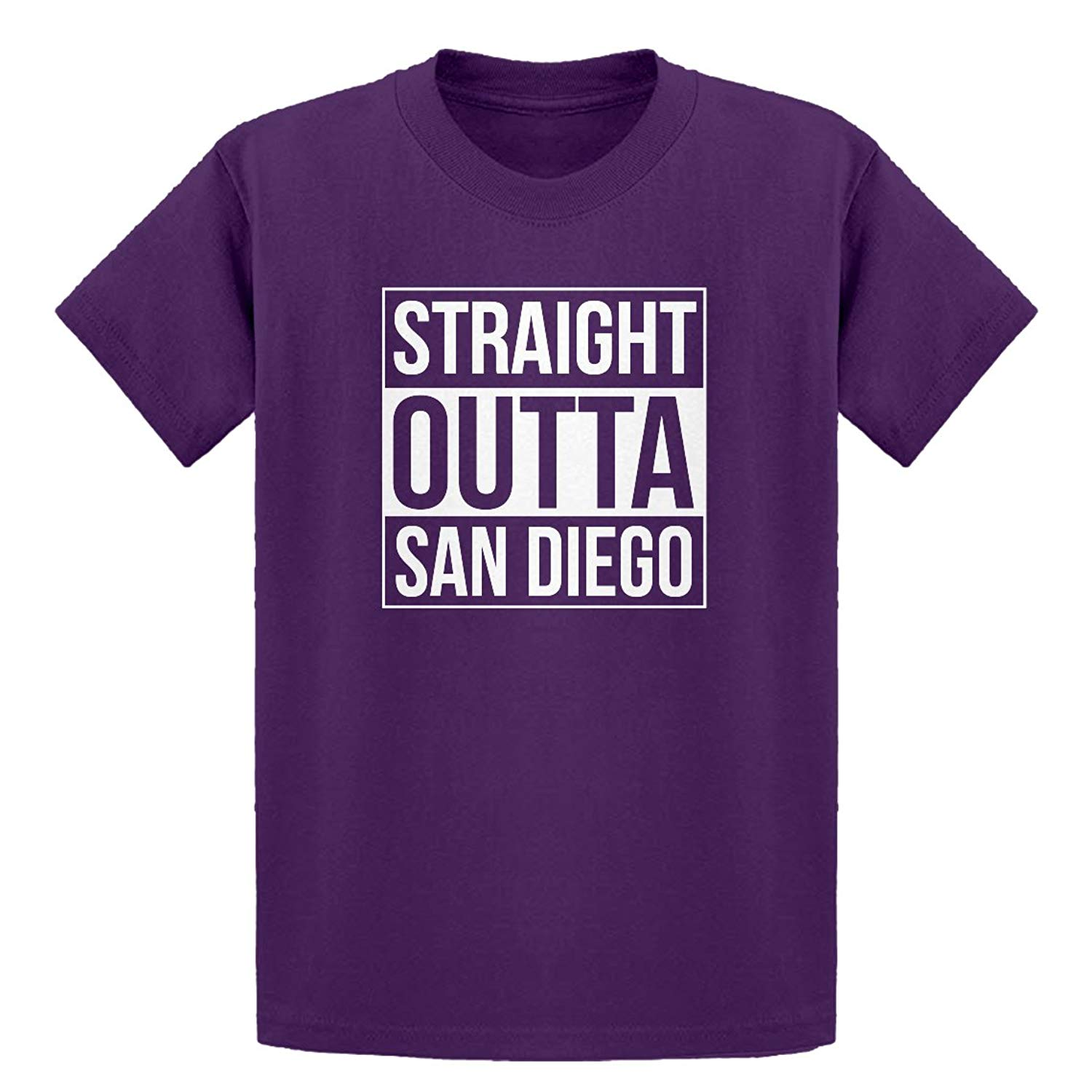 Indica Plateau Youth Straight Outta San Diego Kids T-Shirt
