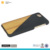 wood bamboo combination phone case leather case for iphone 7