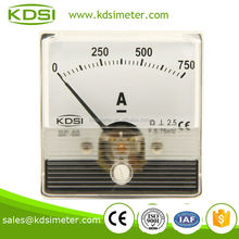 Taiwan Technology BP-60N DC Ammeter DC75mV 750A Analog Ampere Meter with Output