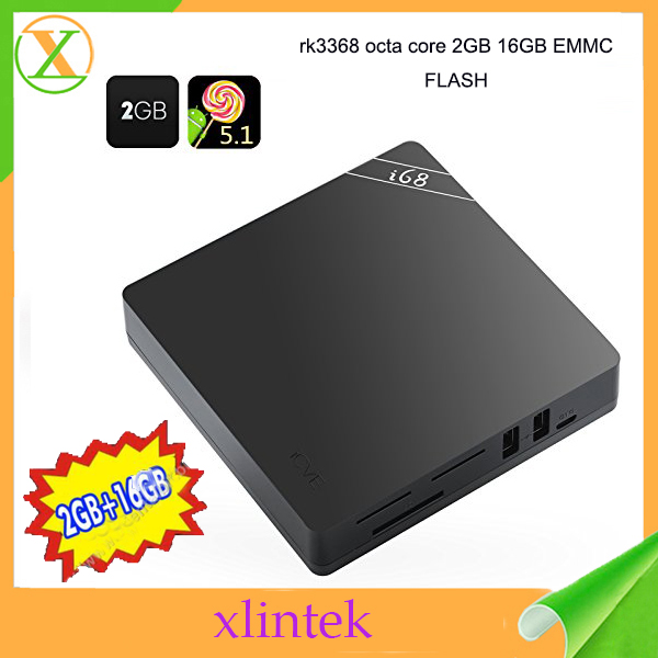 best selling products in America RK3368 i68 Android 5.1 android pc netflix tv android tv box