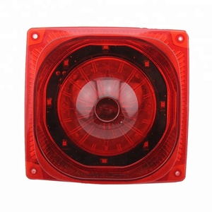fire alam siren with super bright strobe light 24VDC 115Db LS-119