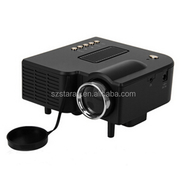 hot cheap pocket projector UC28+ with HDMI USB for party hotel birthday gift