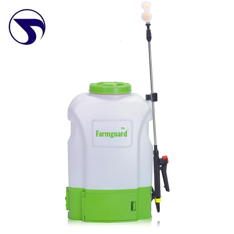 Farmguard ISO9001 Large arc design pakistan 20l pesticide knapsack agricultural battery sprayers