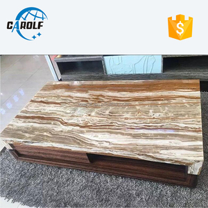 gold marble top center table modern designs