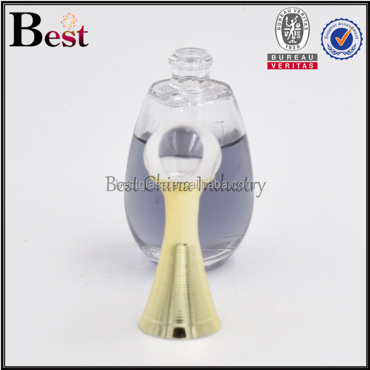 mini 8ml famous oud perfume bottle with cork cap decorative perfume tester bottles China wholesale