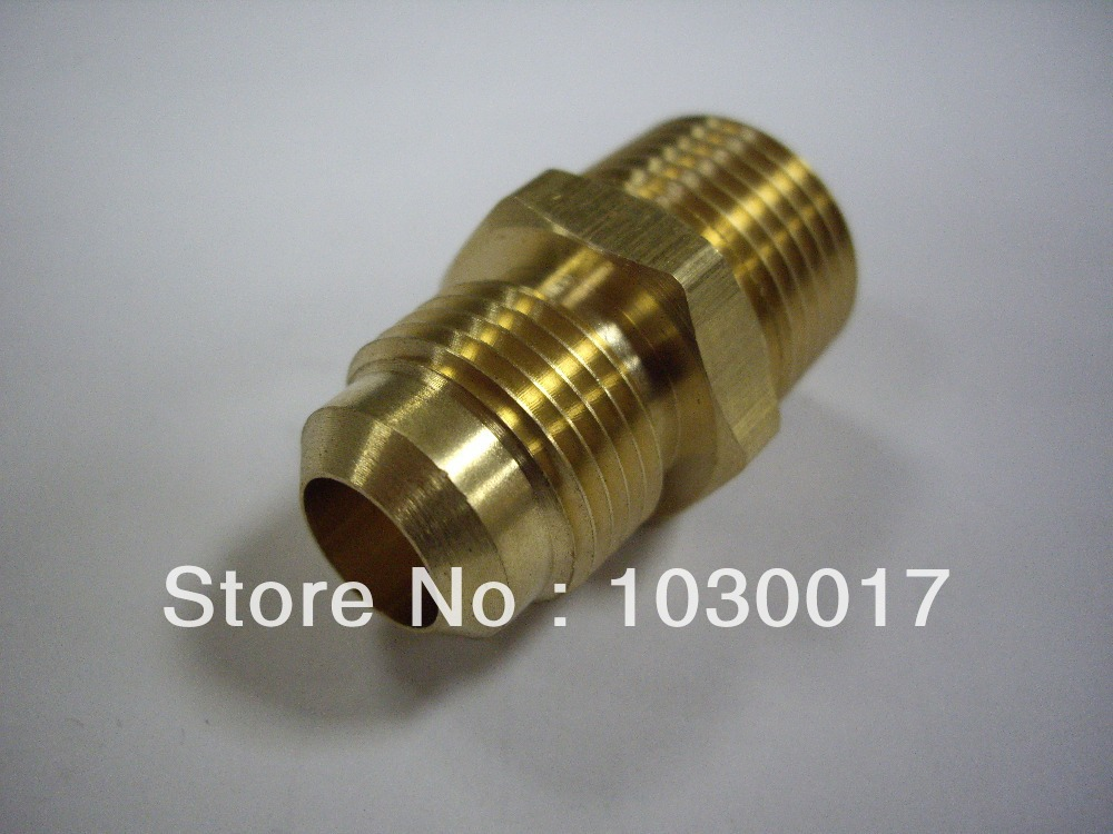 Pack-of-45-Brass-1-2-O-D-Flare-x-3-8-Male-NPT-Connector