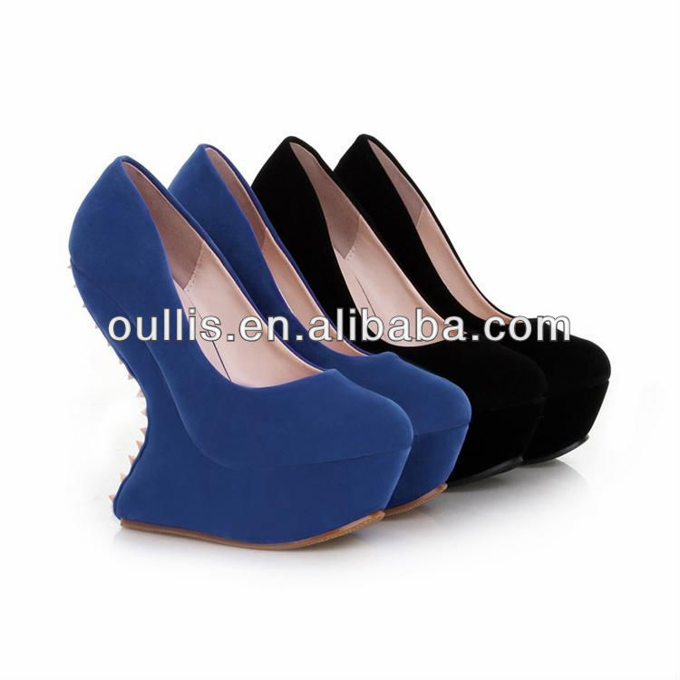 Individual Platforms Shoes For Girls Half Part Of The Sole Touches ...