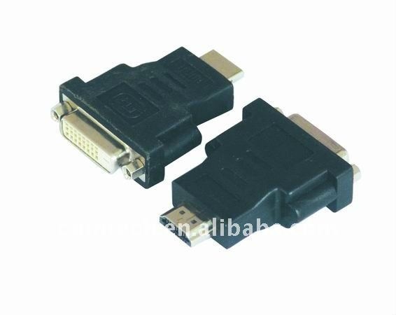 HDMI M TO 24+1 DVI F adapter