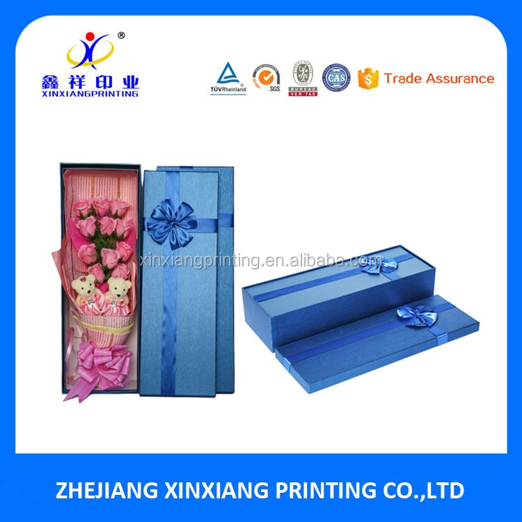 Customized Color Luxury Wholesale Rose Paper Flower Box,Flower Paper Box,paper box designs
