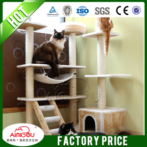 Sisal Cat Scratcher / China Cat Tree House / Wholesale Cat Furniture Cat Tree For Cat
