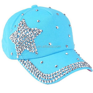 1a4567bfc263df Wholesale Fashion Rhinestone Baseball Hat And Cap, Suppliers &  Manufacturers - Alibaba