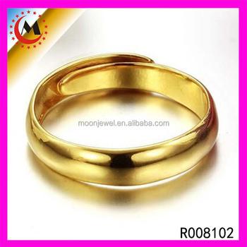 18k Italian Gold Jewelry 2017 Hot Selling Diamond Adjustable Wedding