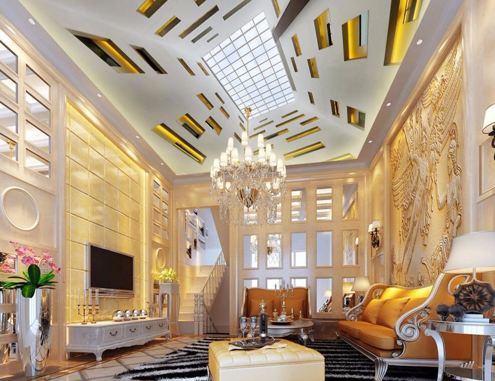 Great design theme customize 3d wallpaper bedroom decor cherry ...