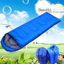 Factory price Outdoor Walking Hiking Warm Light weight Professional Mummy Sleeping Bag For Adult With Carry Bag