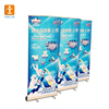Custom image 85*200cm pop roll up banner sample roll up banner show shelf/roll up banner for