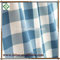 100% Cotton canvas Fabric with Printing Gingham for Home Textile